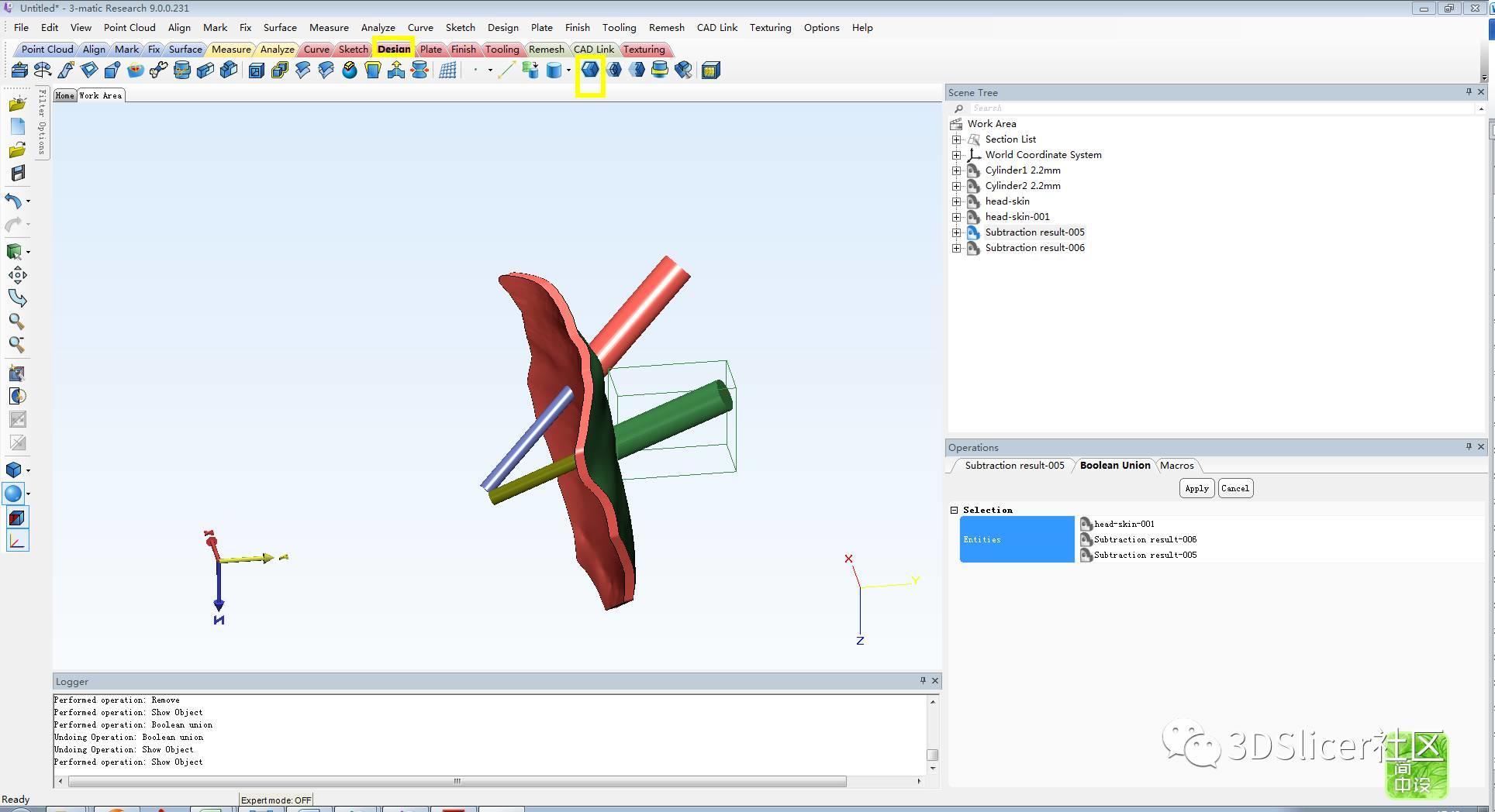 3D打印穿刺导板的设计